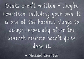 Post image for Writing is Rewriting